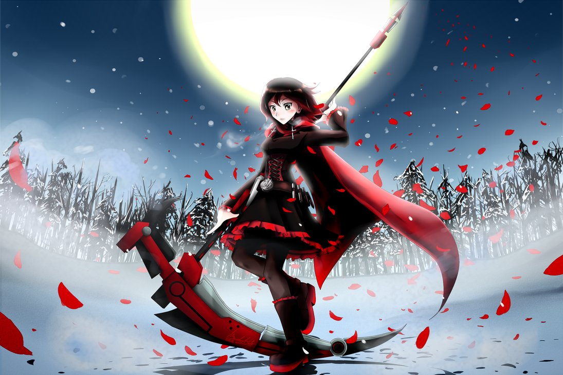 rwby ruby rose scythe - photo #28
