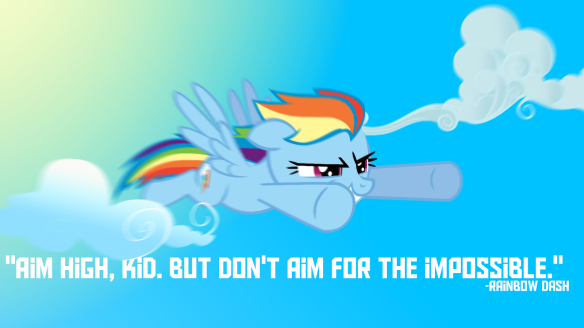 Rainbow dash quote
