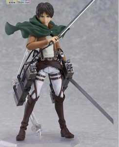 Cool-15cm-6-Attack-on-Titan-Shingeki-no-Kyojin-Scouting-Legion-Levi-Boxed-PVC-Action-Figure