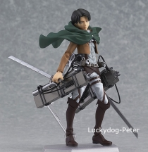 Free-Shipping-Action-Figure-Toy-Rivaille-Attack-on-Titan-150MM-font-b-Levi-b-font-Scout