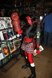 Hellboy, eh, girl
